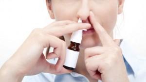 Aplicação nasal
